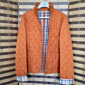 Authentic Burberry Women's Diamond Quilted Jacket
